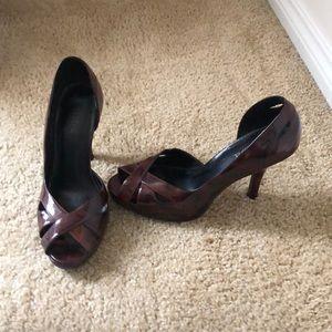 Peel Toe Shoes